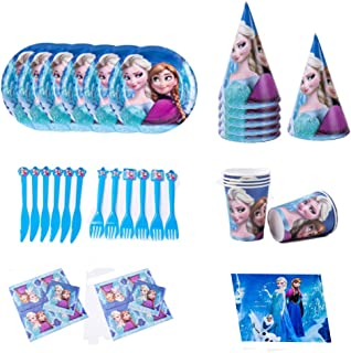 INTVN vajillas para vajilla Vajilla de cumpleaños de niños,Fiesta de cumpleaños Infantil Baby Shower