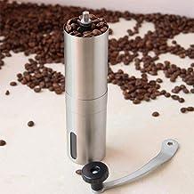 Coffee Grinder Mini Stainless Steel Hand Manual Handmade Coffee Bean Burr Grinders Mill Kitchen Tool Crocus Grinders