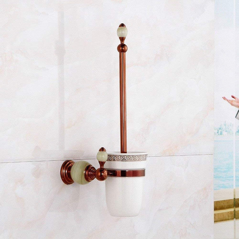Wc Brush All Jade Pink gold Brush Bronze WC Bathroom of Your Bookshelf Accessories in WC Brush