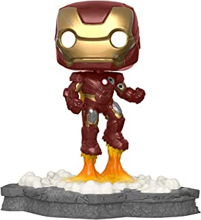 Funko 45610 Pop! Deluxe, Marvel: Avengers Assemble Series - Iron Man, Amazon Exclusive, Figure 1...