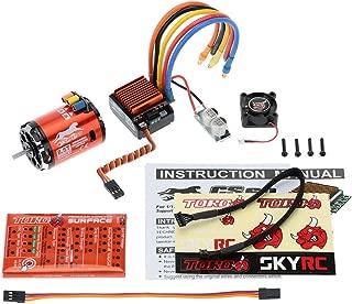 SKYRC 4000KV 8.5T 2P Sensored Brushless Motor and CS60 60A ESC + LED Program Card Combo Set for 1/10 1/12 Buggy Car