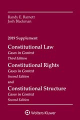 Constitutional Law: Cases in Context, 2019 Supplement (Supplements) Paperback