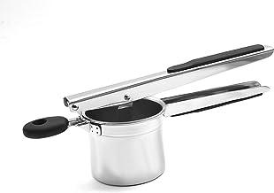 MILLER KITCHEN's Stainless Steel Potato Ricer with 3 Interchangeable Fineness Discs Potato Slicer