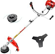 51.7CC Grass String Trimmers Gas Straight Shaft Brush Cutter Gasoline Powered Grass Weed..