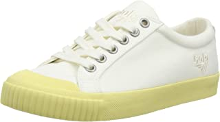 Gola Women's TIEBREAK Candy Trainers, Off-White (Off WHT/Pastel Yell WY), 3 UK 36 EU