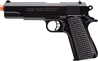 red jacket 1911 airsoft pistol with bbs black