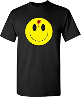 Bullet Smile Emoticon Adult Humor Graphic Novelty Sarcastic Funny T Shirt