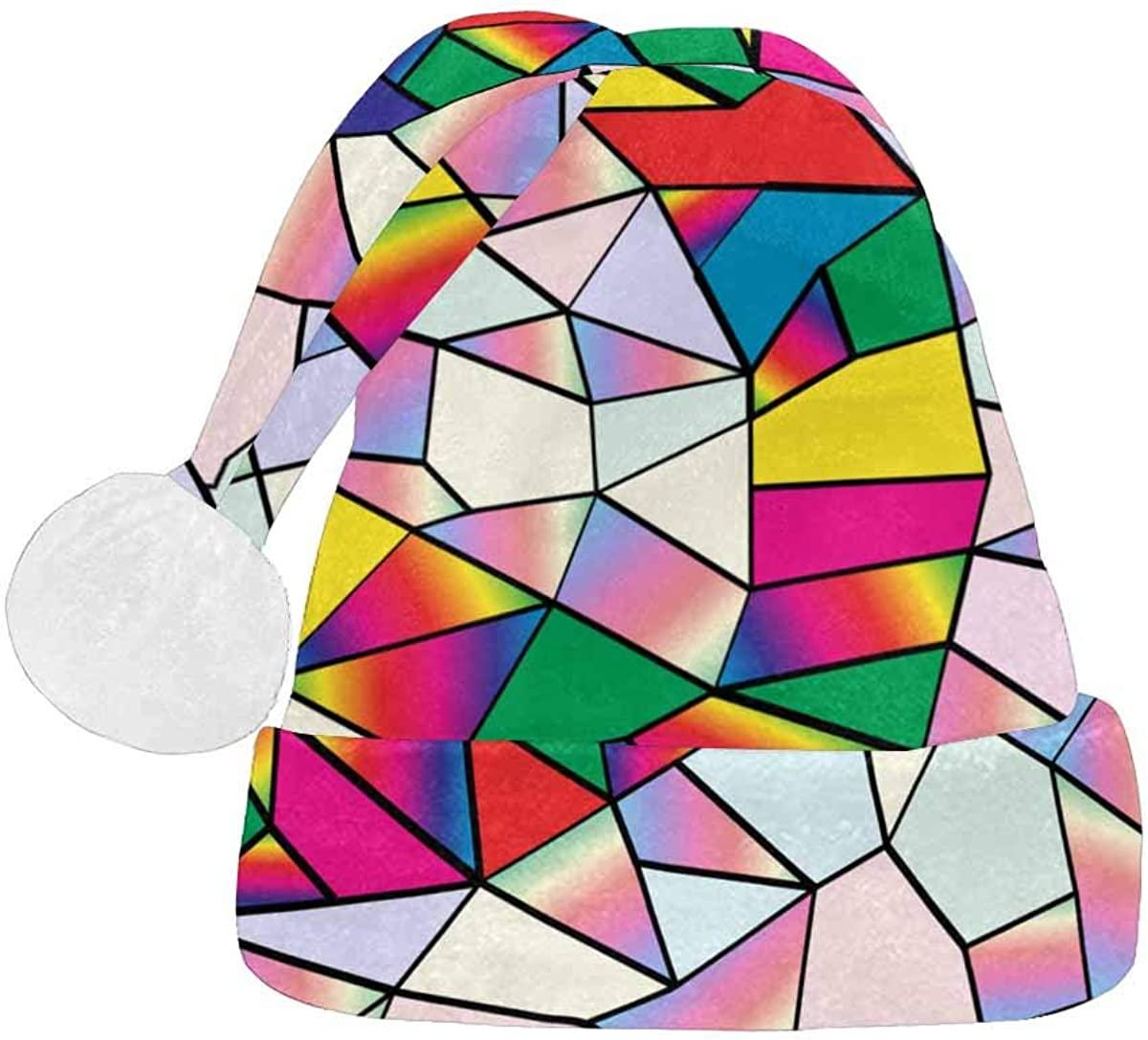 InterestPrint Christmas Santa Hat for Fashion Design Adults High quality 2021 autumn and winter new