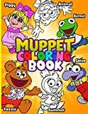 Muppet Coloring Book: Muppet Coloring Books For Adult