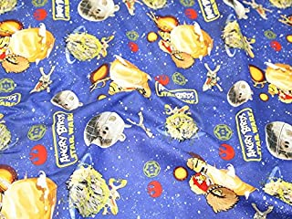 Camelot Fabrics Angry Birds Star Wars Space Battle Quilting Fabric - per fat quarter