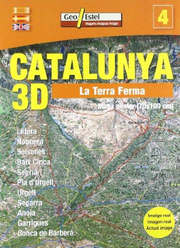 La Terra Ferma: Mapa poster (70x100 cm) (Catalunya 3D - carpeta)