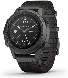 Garmin Marq Commander Titanium Zwart Stof Horloge 010-02006-10
