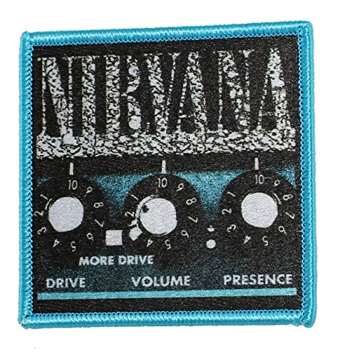 NIRVANA, Amp, Officially Licensed Original Artwork, 3.12' x 3' - Iron-On/Se