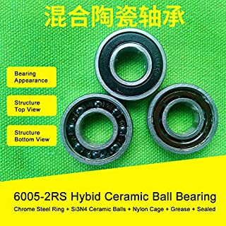 QTY 4 4x9x4 mm S684-2RS Hybrid Ceramic Ball Bearing ABEC-7 ORANGE 684RS