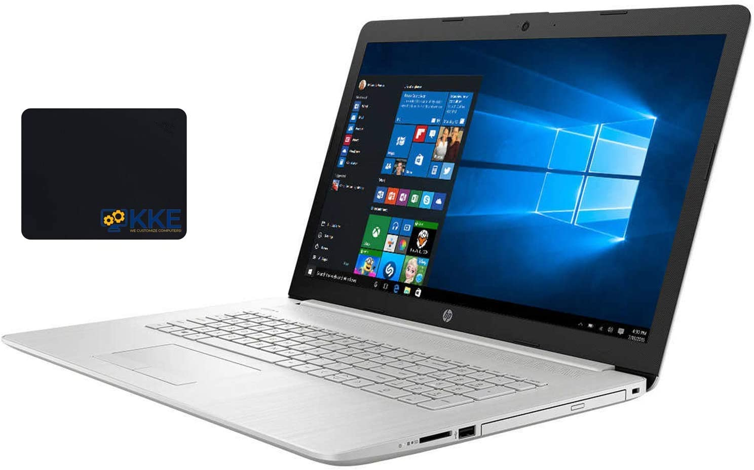 HP 17t Laptop, 17.3