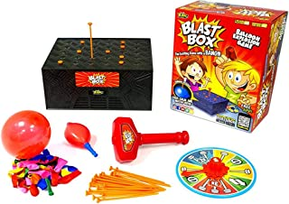 Blast Box Desktop Game Balloon Explosion Games Tricky Toy with Party Games for Children and Adult Funny Family Toys
