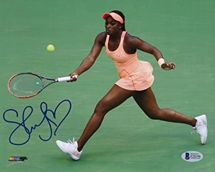 Sloane Stephens USA Women's Tennis Signed 8x10 Color Photo BAS 137501 - Beckett Authentication - Autographed Tennis Photos
