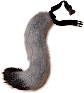 gray fox halloween costume