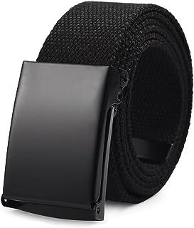 comprar comparacion VBIGER Cinturón Lona Nylon Ocasional para Hombre,125cm