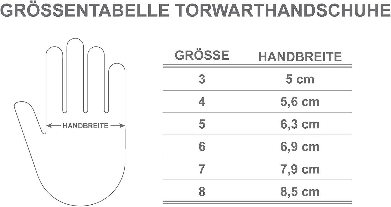 JAKO Fussball Torwarthandschuhe Kinder alle Gr/ö/ßen deutsche Markenqualit/ät hoher unterschiedlichen Farben