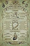 Harry Potter 'Hogwarts Liste Schule' Maxi Poster,61 x 91.5