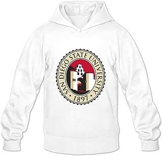San Diego State University VAVD Men's 100% Cotton Hoodies