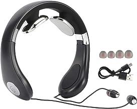 Omabeta Bouchons d'oreille montés sur Le Cou Casque Bluetooth Pliable Casque de Massage sans Fil Portable pour Utilisation...