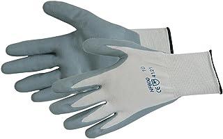 Silverline 456974 - Guantes de nylon recubiertos de nitrilo