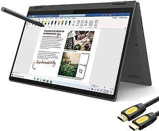 """Lenovo Flex 5 2-in-1 Touchscreen Laptop 14"""" FHD AMD Ryzen 5-4500U 4.0 GHz 16GB DDR4 RAM 256GB SSD FP Reader Backlit KB Typ..."""