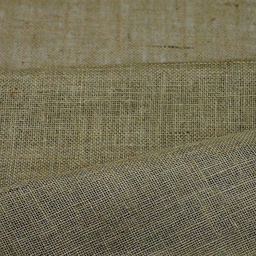 100% yute arpillera 10 oz tela de tapicería del arte jardín de 152,4 cm - ancho y se vende por metros