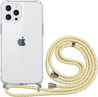 ZhuoFan Compatibel met Samsung Galaxy A32 4G Case Clear 6.4 inch Mobiele Telefoon Case met koord voor het ophangen van ket...