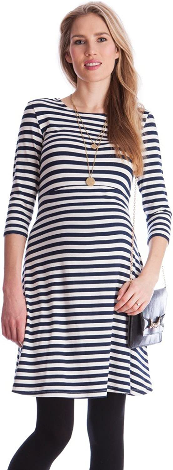 Seraphine Women's Striped Maternity & Nursing Dress
