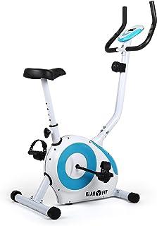 comprar comparacion Klarfit MOBI-FX-250 Bicicleta estática Fija - para Cardio con computador LCD de Entrenamiento - Pulsómetro - Estable - Máx...