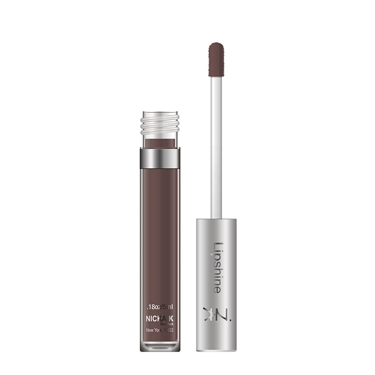 NICKA K Fruity Lip Shine - A52 Chocolate (並行輸入品)