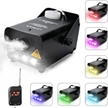 Virhuck 500W Portable RC Fog Machine with Wireless Remote Control, Professional Smoke Machine