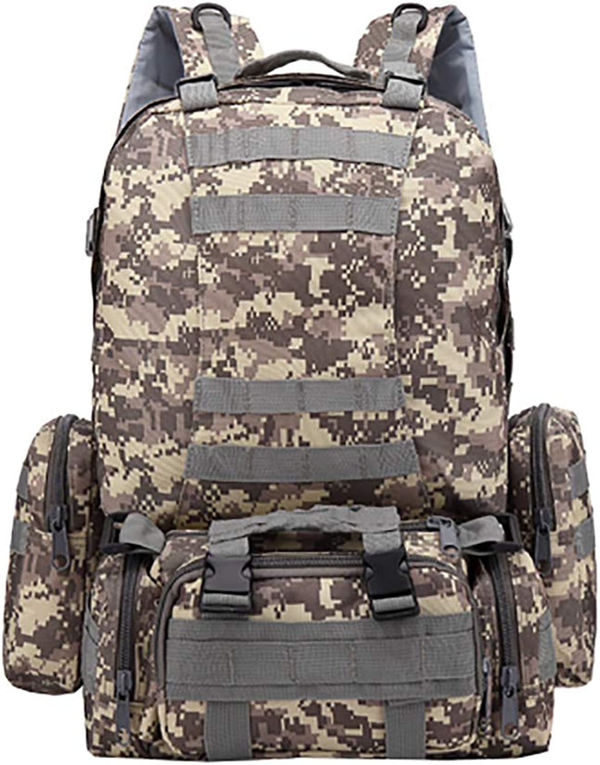 Outdoor Tactical Backpack Oxford Cloth Mountaineering Camouflage Large Package