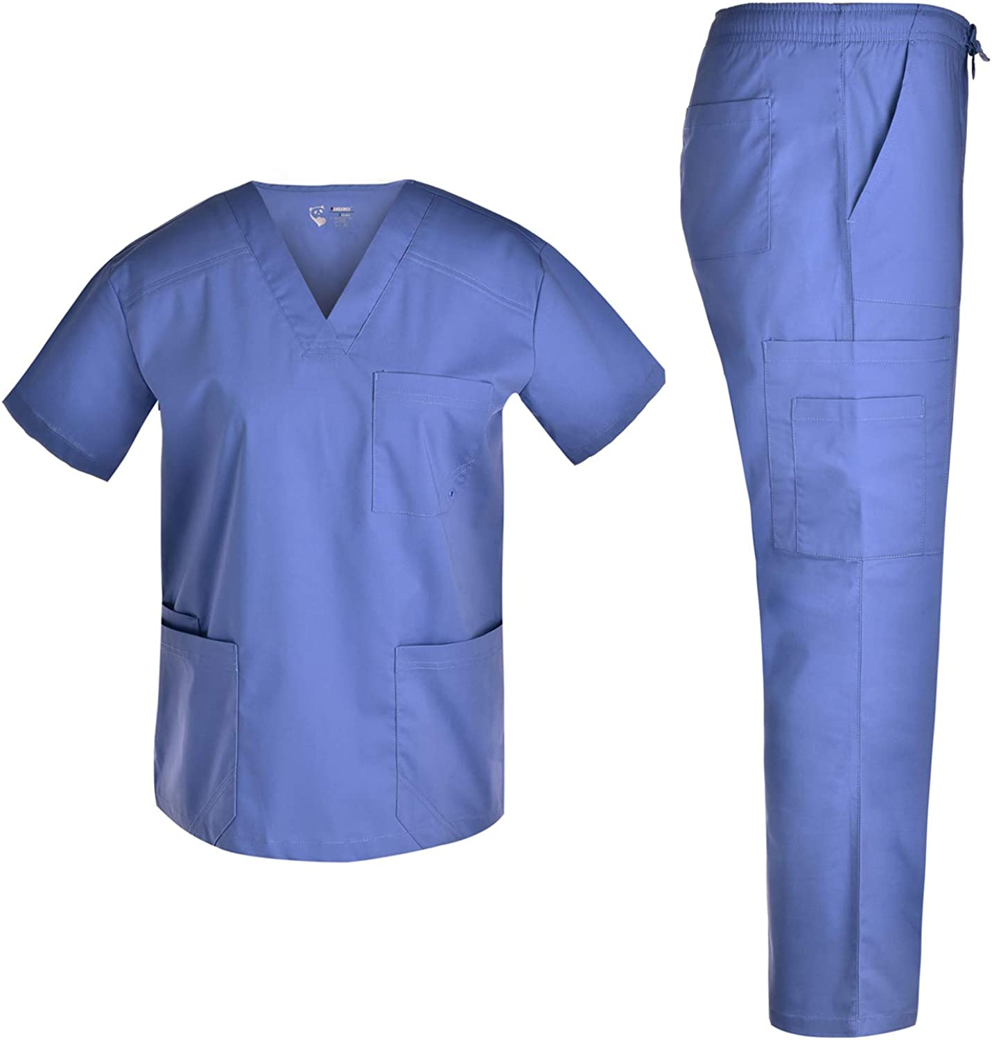 Fashion Oakland Mall Men Stretch V Neck In stock Set - for Top Workwear an Spandex