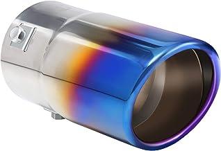 Tritrust Car Wiper Tip - فولاد ضد زنگ به منظور اعمال کروم - برای قرار دادن قطر لوله اگزوز 1.5 تا 2.5 اینچ - بست های نصب