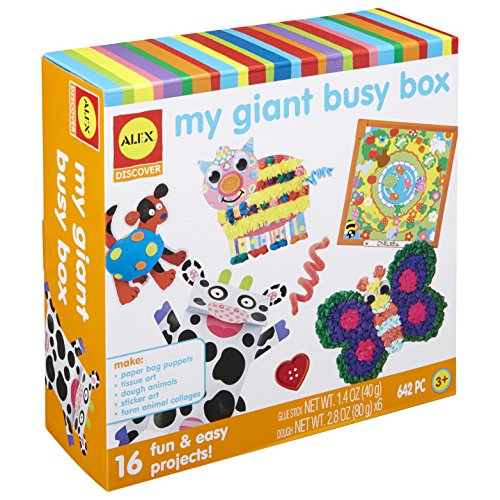 Alex Discover My Giant Busy Box Craft Kit Kids Art and Craft Activity