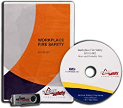 (2011) Workplace Fire Safety Video Training Kit | Easily Train An Unlimited Number of Employees How To React In Case Of A Fire In The Workplace | National Safety Compliance