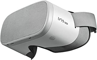 PVR Iris Standalone Virtual Reality Headset All-in-One VR Goggles for 2D 3D VR Videos- YouTube Netflix Apps and MicroSD Card Supported