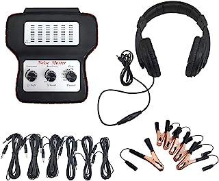 Romacci Estetoscópio eletrônico Localizador de ruído de carro diagnóstico de dispositivo de escuta de máquina Detector de ...