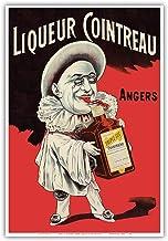 Triple Sec Cointreau Orange Liquor - Angers, France - Vintage Advertising Poster by Eugene OGE c.1900 - Master Art Print 1...