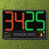 FORZA LED Substitution Board | Electronic Subs Board for Any Team Sport | Single or Double Sided (Single Sided...