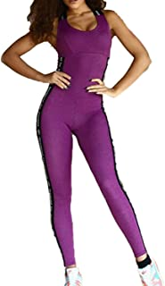 YACUN Donne Sport Jumps Mese Vuoto Stretto Yoga Romper Mutande Bodysuits