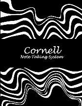 Cornell Note Taking System: Black White Art Work, 8.5 X 11 Cornell Notes Journal, Note Taking Notebook, Cornell Note Taking System Book, School and College Notebooks