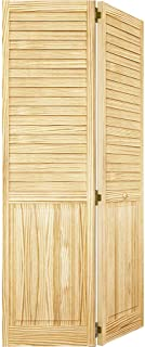 Closet Door, Bi-fold, Louver Panel Plantation 1x36x80