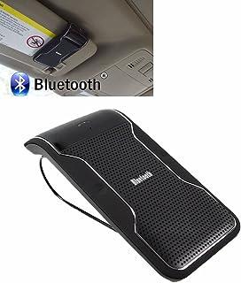 Nuevo kit de manos libres inalámbrico bluetooth manos libres del teléfono del altavoz del visera del sol 10 m de distancia...