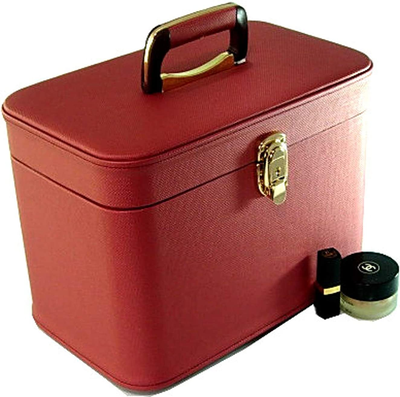 哺乳類格差感謝するメイクボックス コスメボックス トリプルG2 33cm ヨコパールワイン 日本製,メイクアップボックス,トレンチケース,お化粧入れ,化粧雑貨,メーキャップボックス,化粧箱,かわいい,メイク道具箱,メイク雑貨,化粧ボックス