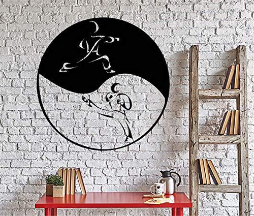stickers muraux enfants Combattre le taoïsme Yin Yang Tao